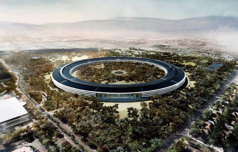 Apple Campus The Space Ship Headquarters
