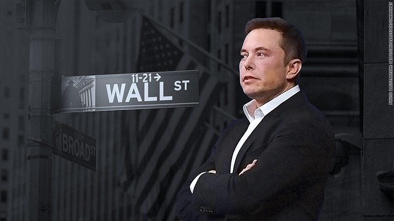 ELON MUSK'S IRE REVEALS A WALL STREET SILICON VALLEY DIVIDE